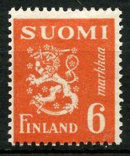 Finlandia 1947-52 SG # 428, 6 m orange-red definitivo MH # 31783
