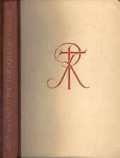 Rabindranath tagore, le roi de la chambre sombre, halbleder M kopfgold, 1919