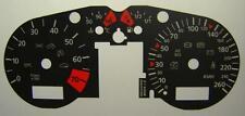 Lockwood AUDI TT Mk1 (8N) 1999-2006 KMH NERO (ST) Dial KIT 8024