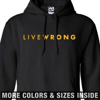 LiveWrong HOODIE - Hooded Cheat Strong Live Wrong LiveStrong Lance Sweatshirt
