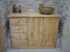 PROMOTION! Solid Wood Medium Sink Unit / Cabinet / Cupboard, bathroom furniture