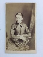 Victorian Carte De Visite CDV: Lady: AT Osbourne: Lincoln: Dated 1879