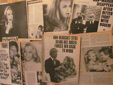 Ann-Margret, Lot of Clippings, EIGHT Articles