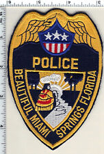 Miami Springs Police (Florida)  Shoulder Patch - new from 1992