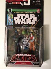 Star Wars - No. 2 Comic Pack  #1-Darth Vader & Rebel Officer Figures -Dark Horse