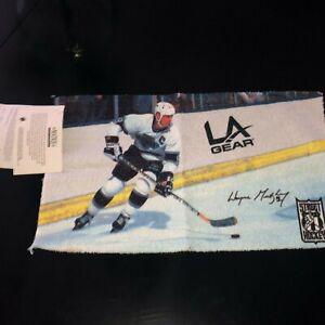 "1988 Wayne Gretzky Street Hockey 10.5 x 16"" LA KINGS Towel Given Out at 1st Game"
