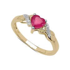 Echte Edelstein-Ringe aus Gelbgold mit Topas für Verlobung