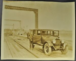 1925 Paige Brougham Sedan Photo Nice Original 25 Not a Reprint
