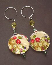 ASIAN GARDEN MOTHER OF PEARL EARRINGS