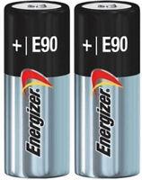 2 Pack New Energizer E90 N LR1 MN9100 910A 1.5V Alkaline Batteries EXP 12/2023
