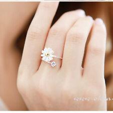 Crystal Flower Rhinestone Elegant Cute Beautiful Fashion Chrysanthemum Ring