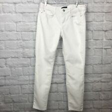 Vince Dylan Skinny Jeans Ankle White Sz 28 134.601