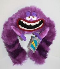 "Disney Store Art 13"" Tall Monsters Inc Purple Bendable Poseable Plush Soft Toy"