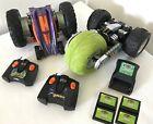 TYCO TMH lot - Air Rebound & Rewinder R/C Remote Control Mattel & 2pc Battery