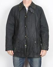 "BARBOUR Bedale Wax Jacket Chest 42"" Medium Large Navy (H4D)"