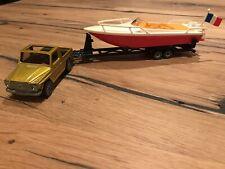 Siku Mercedes 280GE With Speed Boat