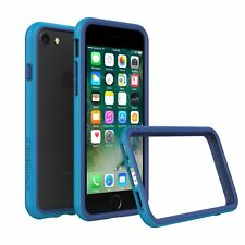 iPhone 8/7 Bumper Case RhinoShield [11 Ft Drop Tested] ShockProof Tech-Blue