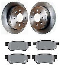 Arrière Disque de frein et plaquettes est compatible avec Honda CIVIC MK5 1.4 1.5 1.6 2.0 1995-2001