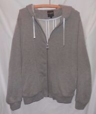 Men's Moshuma Abunai Full-Zip Hoodie - Size L; Gray