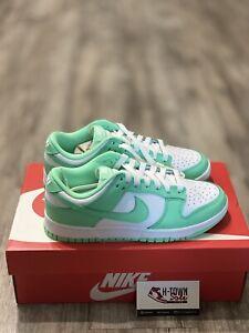 Nike Dunk Low Green Glow/White - Size 7.5W - DS - Freeshipping