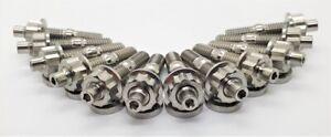 Titanium EXHAUST Manifold Stud Kit -FORD EA EB ED EF EL AU BA BF FG (BARRA) 6CYL