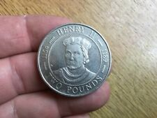 Guernsey 1991 Henry II £2 Coin