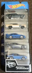 Hot Wheels Fast And Furious Box Set - 5pack
