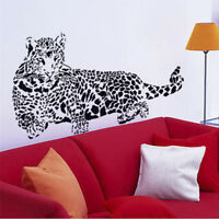 3D Wall Stickers Removable Wild Animal Wall Decals House Art*PVC-Cheetah*Leopard