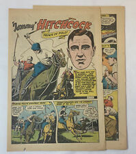 1947 four page cartoon story ~ TOMMY HITCHCOCK Prince Of Polo