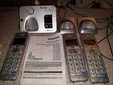 Panasonic KX TGE260 Dect 6.0 Cordless Telephones W/ Bluetooth Capability.