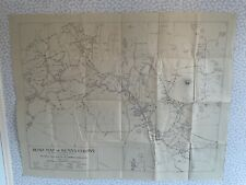 More details for royal east african automobilia association road map of kenya colony 1920's linen