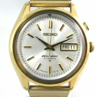 SEIKO BELL-MATIC 4006-7010 AUTOMATIC 27JEWELS GOLD MEN'S VINTAGE WATCH JAPAN