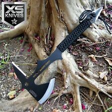 "15"" Full Tang Survival Tomahawk Hatchet Hunting Stainless Steel Throwing Axe"