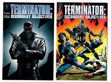Terminator: Secondary Objectives #1-4 set (1991) Dark Horse VF/VF+