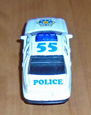 Welly White with Blue & Yellow Chevrolet Caprice #55 Police Car
