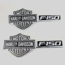 09 thru 14 F-150 Ford  Harley Davidson Fender Emblems PAIR CHROME LEFT&RIGHT HOT