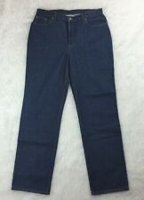 Jeanology New Womens Size 16 Tall Denim Blue Jeans Style A1347