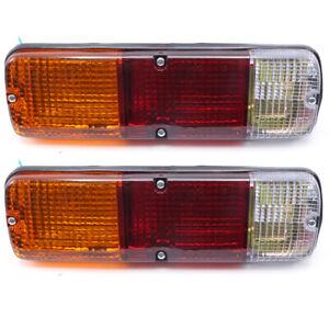 Rear Tail Lights Lamp Fits Toyota Land Cruiser FJ40 45 HJ45 47 BJ42 1961 - 1983