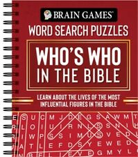 Brain Games - Word Search Puzzles: Who's Who in the Bible: Learn about the Lives