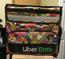 Uber Eats Limited Edition Artist Melanie Insulated Backpack Doordash Rest