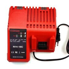 Multi-Voltage Rapid Charger for Milwaukee Lithium Battery M12 M14 M18 48-11-2401