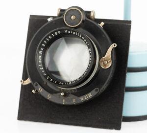 Voigtlander Heliar 210mm F 4.5 5x7 portrait lens wet plate