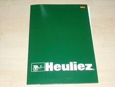 56120) Heuliez Intruder - Genf - Pressemappe 03/1998