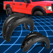 "1.75"" Thermo ABS Wheel Fender Flares Protector Cover for 2009-2014 F-150 Pickup"