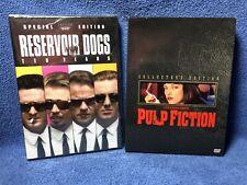 Reservoir Dogs & Pulp Fiction Dvds