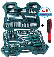 """Mannesmann M98430 juego de herramientas llaves vaso 1/4"""" 3/8"""" 1/2"""""""