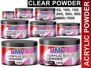 Acrylic clear Powder Professional Nail Art Natural Nail Enhancement BEST QUALITY
