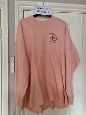 More details for disneyland paris pink coral and rose gold spirit jersey. size l