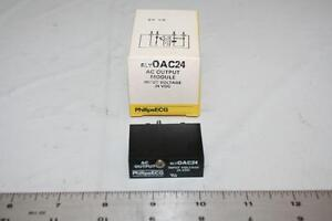 ECG RLYOAC24 AC Output Moduce Input Voltage 24VDC I/O Module RIM-OAC24 New