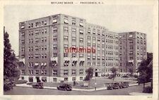 WAYLAND MANOR Apartment House with Hotel accomodations PROVIDENCE, RI 1939
